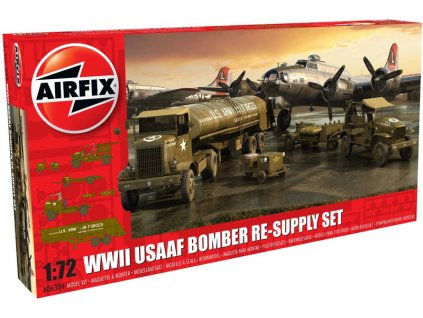 Classic Kit diorama USAAF 8TH Airforce Bomber Resupply Set (1:72)
