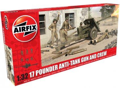 Classic Kit military 17 Pdr Anti-Tank Gun 1:32 reedice
