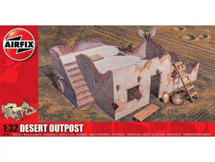 Classic Kit diorama Desert Outpost 1:32