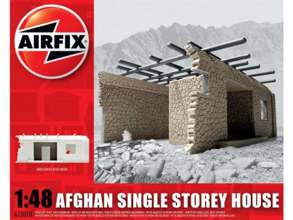 Classic Kit budova Afghan Single Storey House 1:48