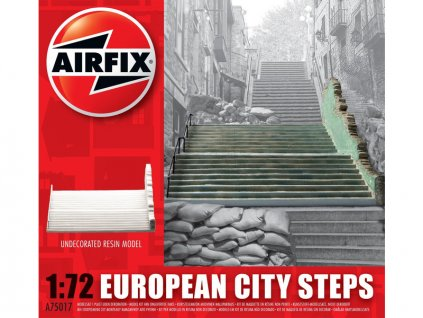 Classic Kit budova European City Steps 1:72