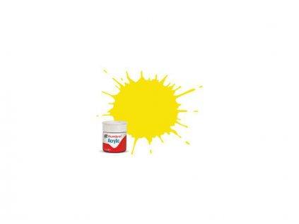 Humbrol barva akryl #99 citronová matná 12ml