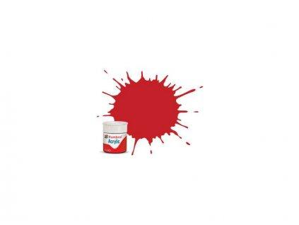 Humbrol barva akryl #220 závodní červená lesklá 12ml