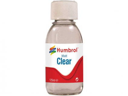 Humbrol Clear matný lak 125ml