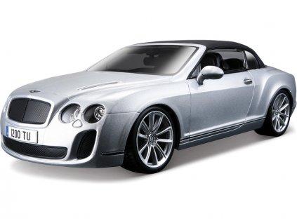 Bburago 1:18 Plus Bentley Continental Supersports Convertible