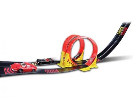 Bburago 1:43 Ferrari Dual Loop + 2x auto