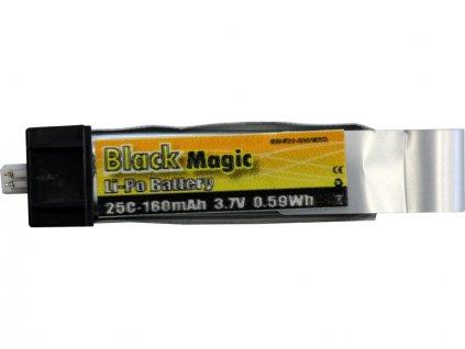 LiPol Black Magic 3.7V 160mAh 25C EFL
