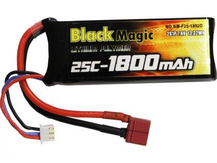 BLACK MAGIC LIPOL 1800mAh 25C 7.4V