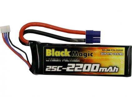 BLACK MAGIC LIPOL 2200mAh 25C 11.1V