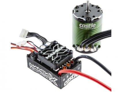 Castle motor 1406 5700ot/V senzored s reg. Mamba X