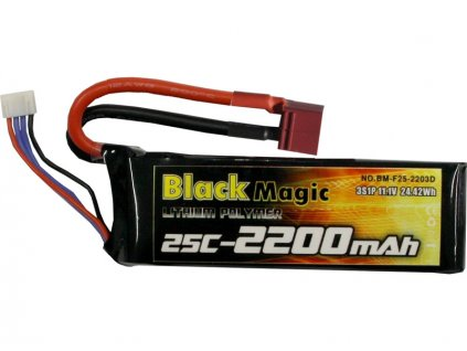 BLACK MAGIC LIPOL 2200mAh 25C 11.1V