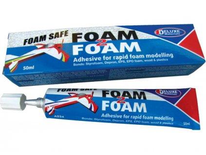 Foam 2 Foam flexibilní lepidlo na pěnové hmoty 50ml