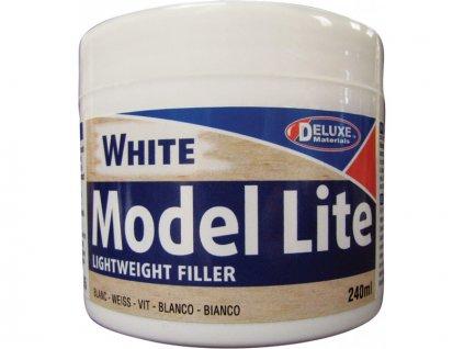 Model Lite White lehký tmel bílé barvy 240ml