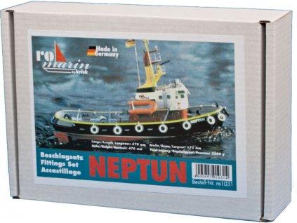 Krick Přístavní remorkér Neptun - příslušenství