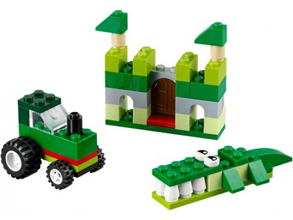 LEGO Classic - Zelený kreativní box