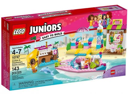 LEGO Juniors - Andrea a Stephanie na dovolené na pláži