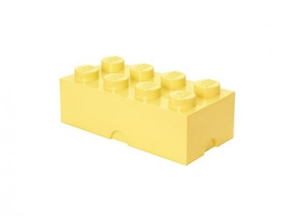 LEGO úložný box 250x500x180mm - světle žlutý
