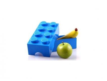 LEGO box na svačinu 100x200x75mm - černý