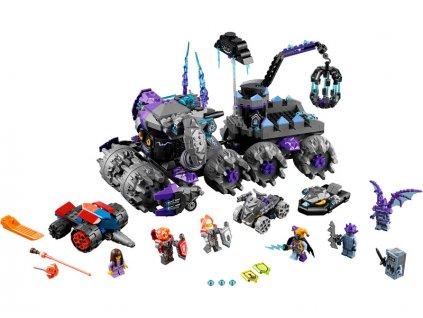 LEGO Nexo Knights - Jestrovo mobilní ústředí (H.E.A.D)