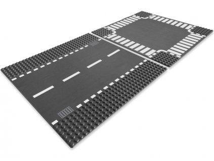 LEGO City - Rovná silnice a křižovatka
