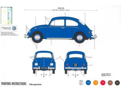 Starter Set auto VW Beetle 1:32