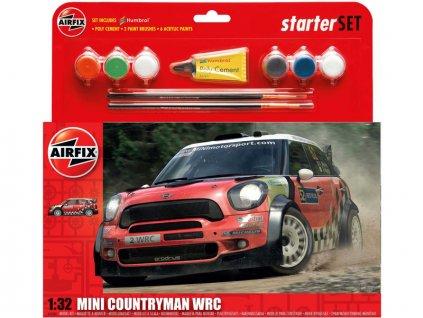 Starter Set auto Mini Countryman WRC 1:32