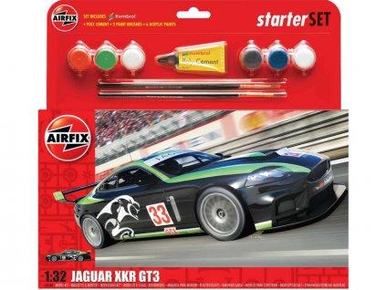 "Starter Set auto Jaguar XKRGT3 ""Fantasy Scheme"" 1:32"