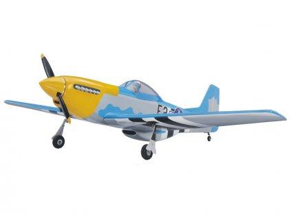P-51D Mustang 20cc ARF žlutý
