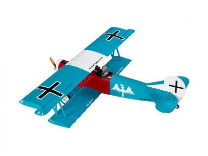 Fokker D.VII ARF tyrkysový