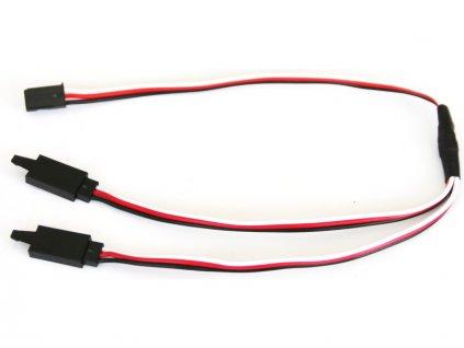 Kabel serva Y Futaba s klipem HD 30cm