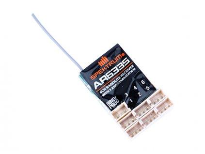 Spektrum přijímač AR6335 DSM2/DSMX 6CH AS3X Nanolite