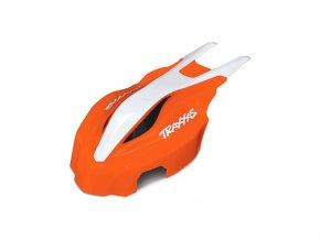 Aton: Přední kapotáž oranžová/bílá