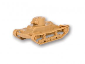 "Zvezda Easy Kit British Light Tank ""Matilda Mk I"" (1:100)"