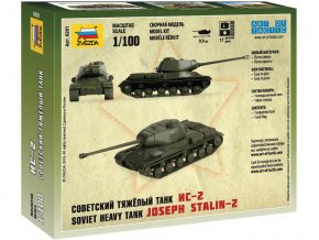 Zvezda Easy Kit IS-2 Stalin (1:100)