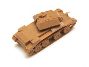 Zvezda Easy Kit British Tank MK IV Cruiser (1:100)