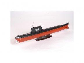 "Zvezda K-19 Soviet Nuclear Submarine ""Hotel"" Class (1:350)"