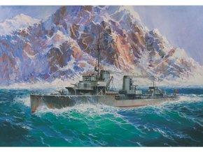Zvezda German Destroyer Z-17 Diether von Roeder (1:350)