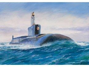 Zvezda jaderná ponorka Borey Vladimir Monomach (1:350)