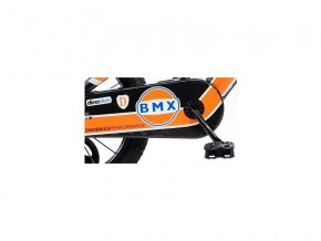 """DINO Bikes - Dětské kolo 16"""" BMX černé"""