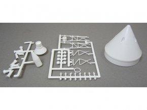 Estes - Apollo Capsule (Little Joe II) plast. díly