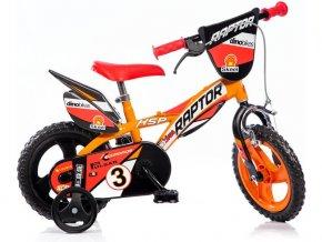 """DINO Bikes - Dětské kolo 12"""" Raptor"""