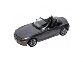 Bburago 1:24 BMW Z4 šedá