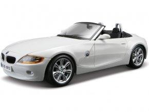 Bburago 1:24 BMW Z4 bílá