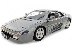 Bburago 1:18 Ferrari 348ts stříbrná