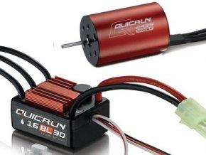 HOBBYWING COMBO QUICRUN WP-16BL30 + QUICRUN 2435 (4500KV)