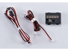 Světelná sada 6 LED s řídící jednotkou 1/10