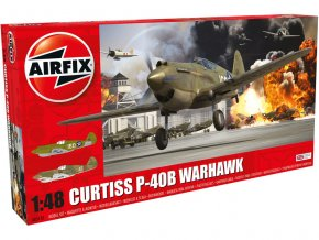 Airfix letadlo P40B Warhawk (1:48)