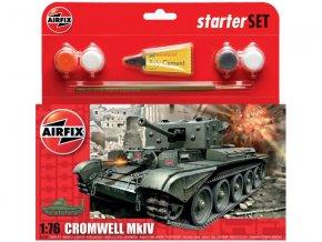 Starter Set tank Cromwell Cruiser Tank 1:76