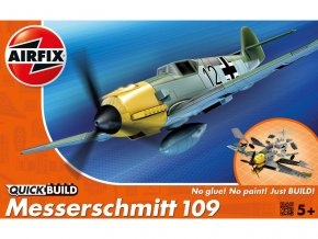 Quick Build letadlo Messerschmitt 109