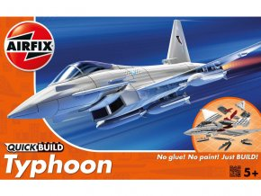 Quick Build letadlo Eurofighter Typhoon